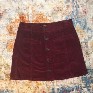 American Eagle Hi-Rise A-Line Skirt